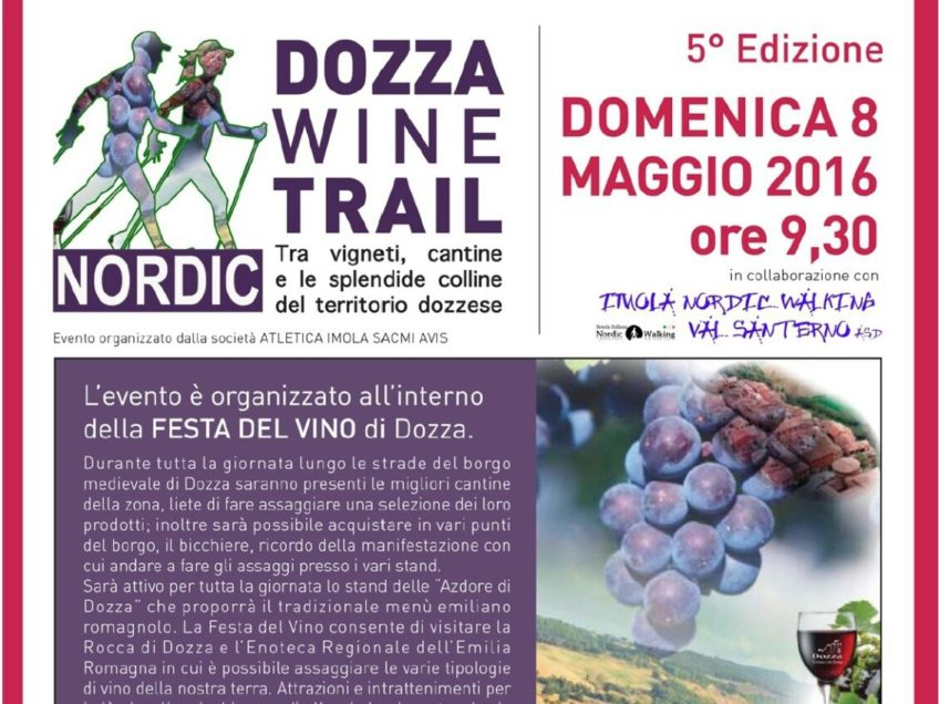 Dozza Wine Trail a passo di Nordic