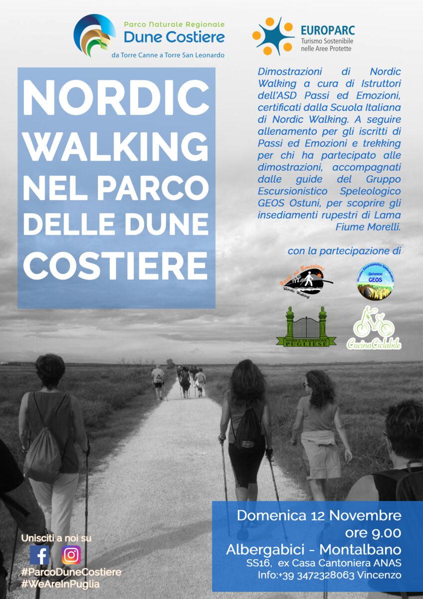 Nordic Walking nel Parco delle Dune Costiere